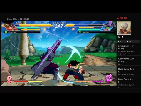 Playing db fighters z new broadcast 2