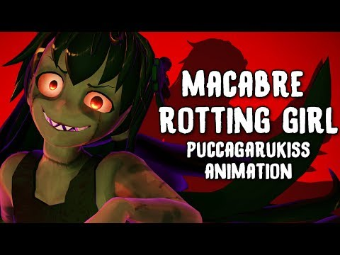 Macabre Rotting Girl 『MMD Animation』