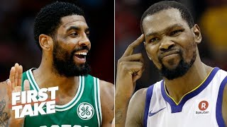 Charles Barkley: Kyrie to the Nets would have been irrelevant without Kevin Durant | First Take