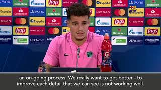 """Barcelona midfielder philippe coutinho said he will relish the """"great match"""" which is expected to unfold as his side prepare face fellow european heavywei..."""