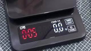 실팬 전자저울블랙 1k…