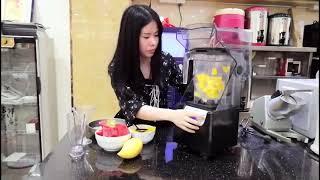 가정용 업소용 카페 반자동 초고속 블렌더 믹서기