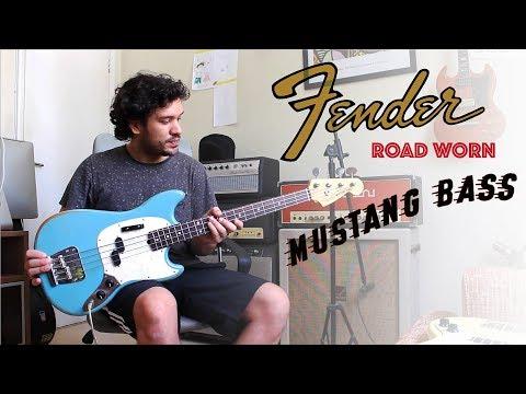 Fender Mustang Bass JMJ - 66 - Road Worn - Review