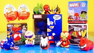 Kinder Joy Surprise Eggs Captain America Do It Yourself Toy Marvel Superhero Blind Box Toys
