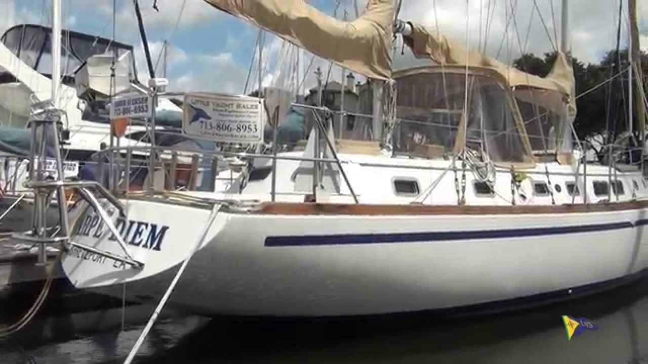 SOLD Gulfstar 50 Carpe Diem Sailboat For Sale At