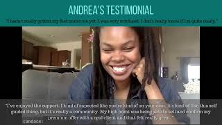 Testimonial Video - Andrea S.