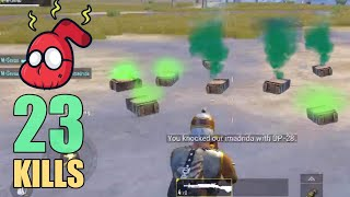 THEY DID NOT EXPECT THIS!!! | 23 KILLS | SOLO SQUAD | PUBG Mobile