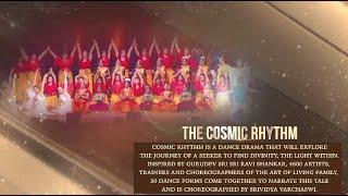 cosmic rhythm dance drama by 4600 artists   world culture festival 2016
