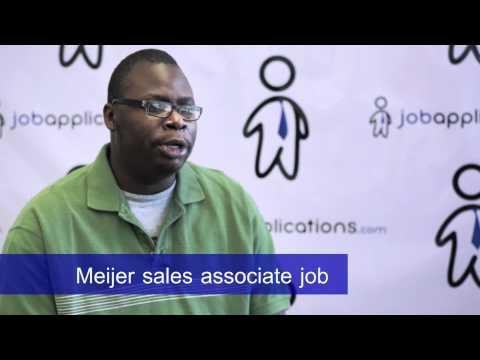Meijer Sales Associate - Job Description & Salary