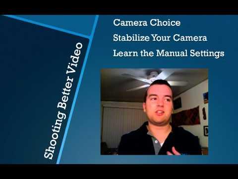 Shoot Better Video // Make Better Video Series from Video School Online