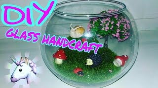 DIY | GLASS HandCraft #1 | DASHA LifeStyle