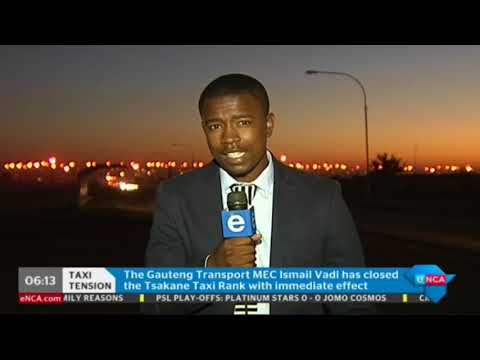 The latest on deadly Brakpan taxi violence