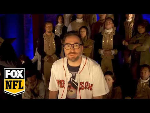 Rob Riggle's 'Hamilton' Parody For Week 1 Of The 2016 NFL Season  FOX NFL SUNDAY