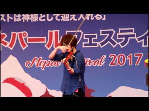 Resham Firiri || Nepal Festival 2017, Japan || Japanese singing Nepali || Aoi