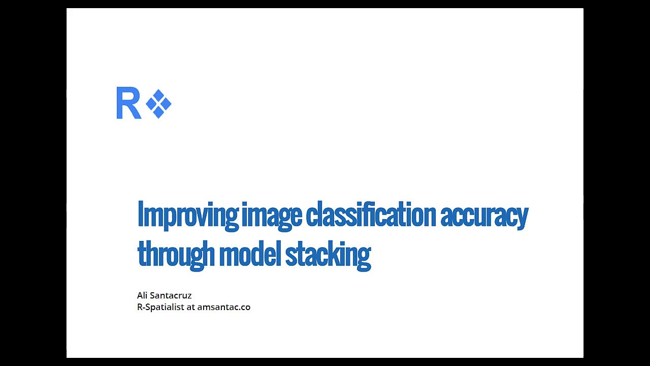 Improving classification accuracy through model stacking