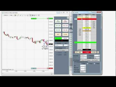 NinjaTrader 7 Tips - Simultaneously Going Long and Short in the Same Market