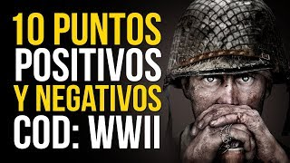 Call of Duty WWII: 10 puntos POSITIVOS y NEGATIVOS de la beta