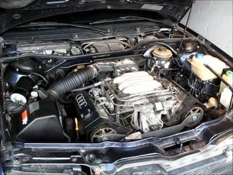 guide cam belt job audi a6 c4 2 6 2 8 v6 engine youtube rh youtube com Audi Q5 3.0 V6 TDI Diesel Engine 2002 Audi V6 Turbo