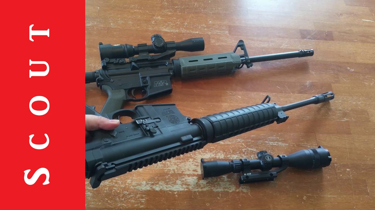 Smith and Wesson M&P-10 308 Rifle Review - Scout Tactical