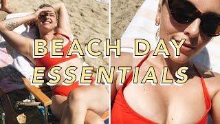 🏖MY BEACH DAY ESSENTIALS! 🏖