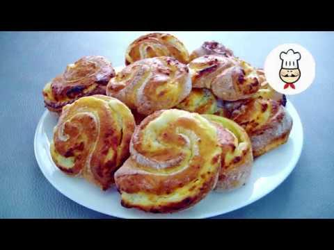 Выпечка из творога - домашние булочки / Что приготовить с творогом / Волшебная еда домашняя выпечка