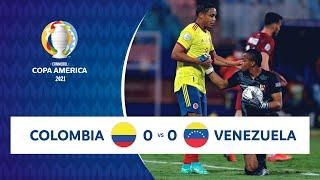 HIGHLIGHTS COLOMBIA 0 - 0 VENEZUELA | COPA AMÉRICA 2021 | 17-06-21