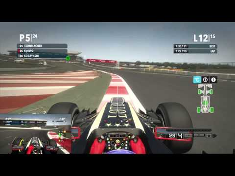 F1 2012 | Co-op Championship Round 17 - Indian Grand Prix