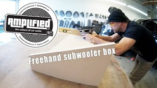 Freehand Subwoofer Box Design