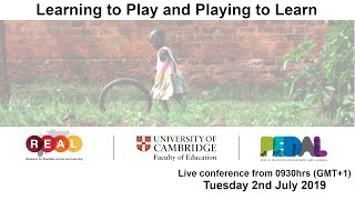 Learning to Play and Playing to Learn | #playingtolearn