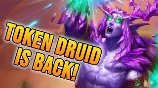 Token Druid is Back!! | Rise of Shadows | Hearthstone