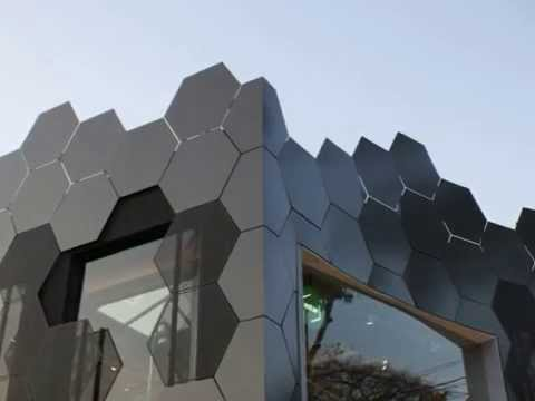 Organic Architecture Honeycomb Inspired Fa 231 Ade At M 243 Veis