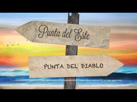 Promo Playa vs Playa - Punta del Este vs Punta del Diablo
