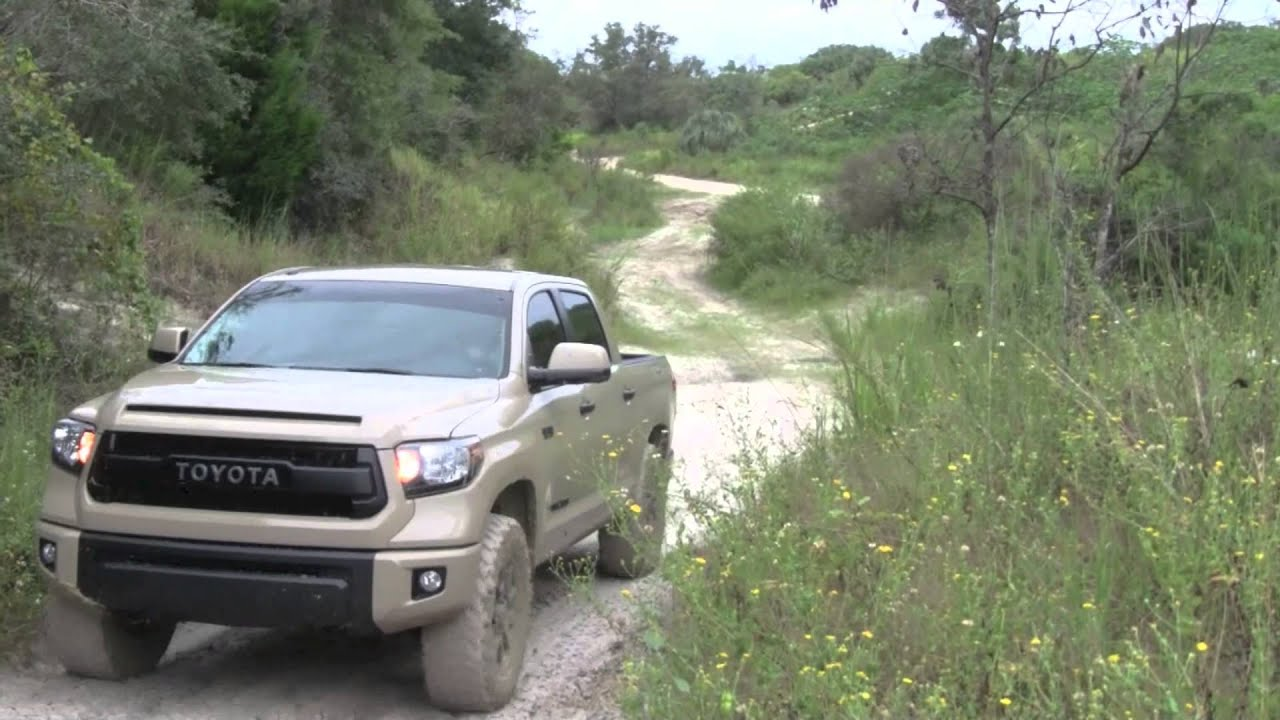 2016 Toyota Tundra TRD Quicksand in Action