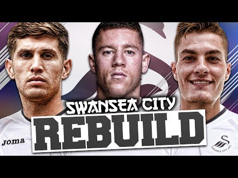 REBUILDING SWANSEA CITY!!! FIFA 18 Career Mode