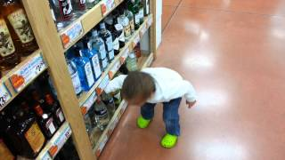 How toddlers shop in Wisconsin
