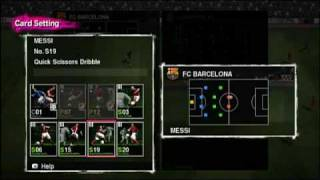 PES 2010 - Tactic and Formation Options