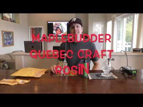 Maple Budder Rosin Quebec Craft Rosin