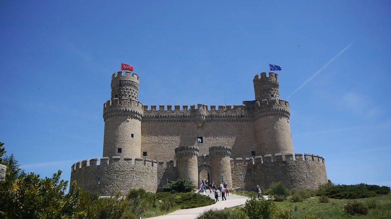 Castillo de manzanares el real madrid youtube - Polideportivo manzanares el real ...