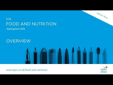 Food and Nutrition GCSE