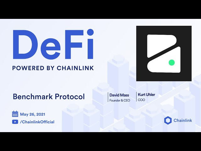 Chainlink Live | Benchmark Protocol: Non-Dilutive Stablecoin Alternative