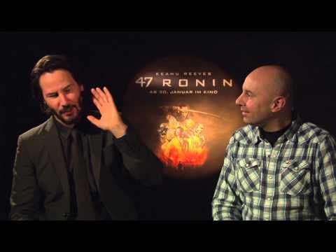 Interview KEANU REEVES - 47 Ronin - MATRIX - spricht deutsch / german