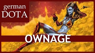 QUEEN OF PAIN Dota 2 - OWNAGE - Let's Play Dota 2 Gameplay German / Deutsch
