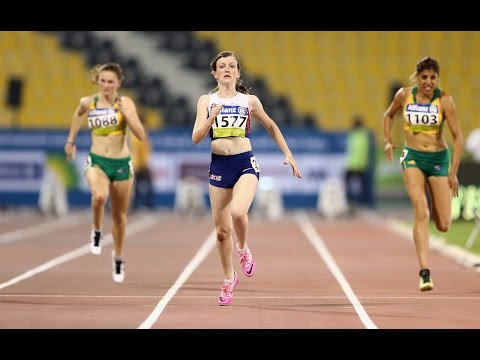 Women's 100m T38   final    2015 IPC Athletics World Championships Doha
