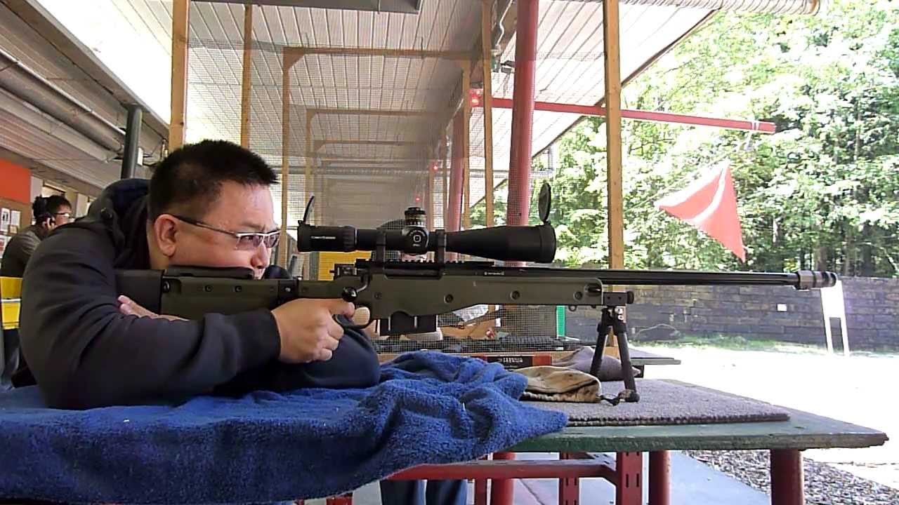 Awm Accuracy International Sniper Rifle Youtube