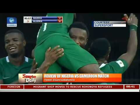 Nigeria Vs Cameroon: Nigeria Scraped The Best Deal Out Of Yaounde Analyst Pt.3 |Sunrise Daily|