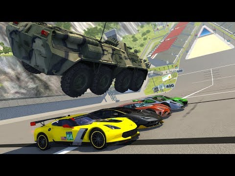 BeamNG Drive High Speed Jumps&Crashes #27