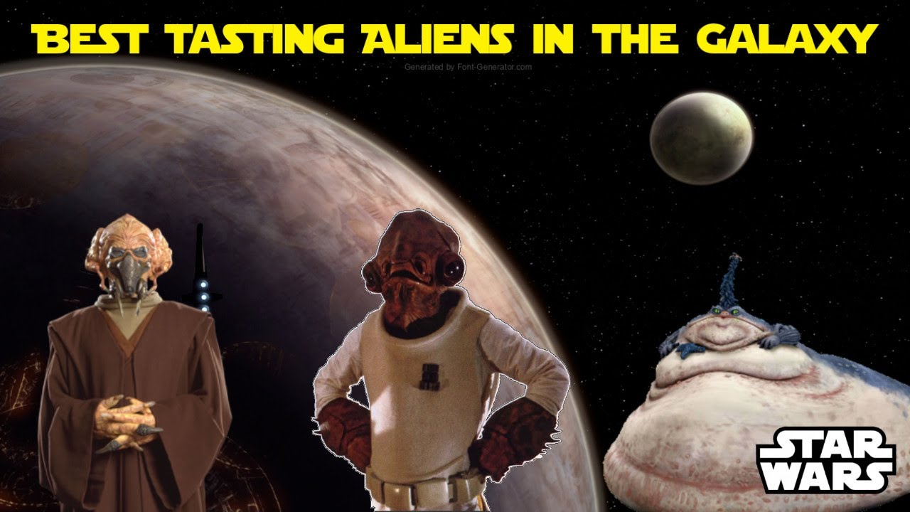Which Star Wars Alien Would Taste the Best? (Visually Analysed Best Meats)