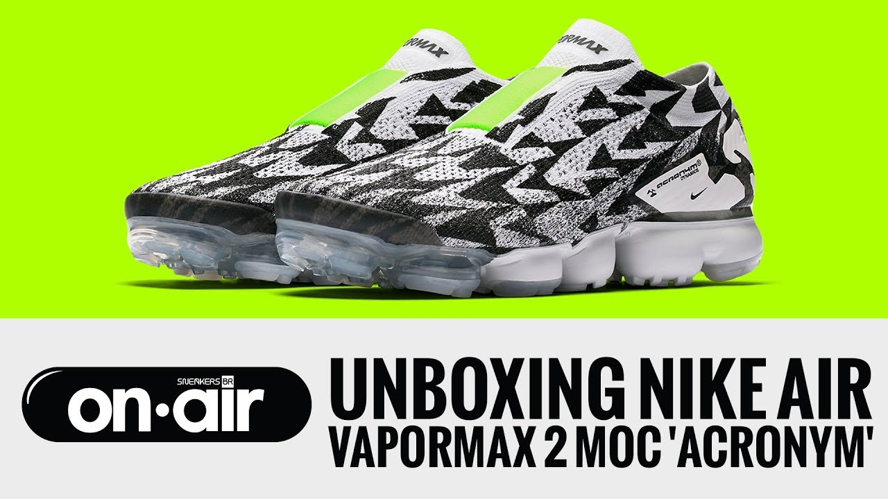cf4964a2cf16 60 - Unboxing Nike Air Vapormax Moc 2  ACRONYM   piranomeuair · Sneakers BR