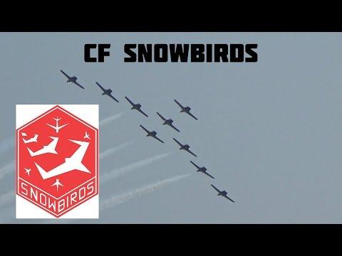 Canadian International Air Show 2015 CF Snowbirds