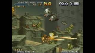 Metal Slug Anthology Nintendo Wii Gameplay - The Attract